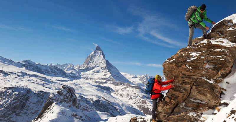 Actionreiche Tage in Zermatt